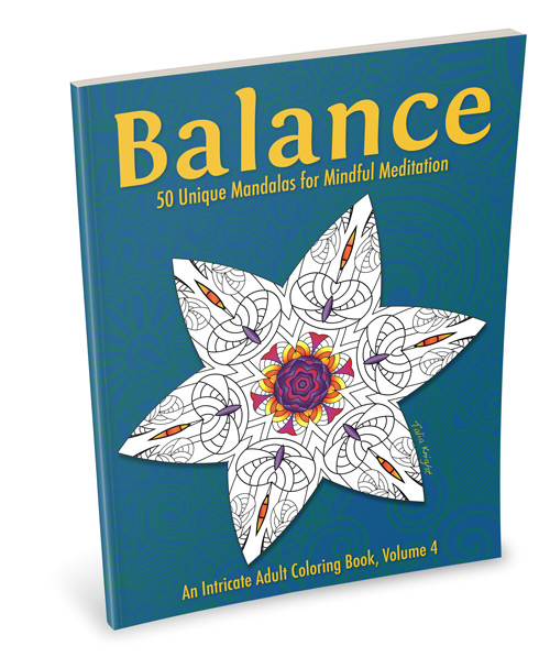 Balance Mandala Coloring Book for Adults