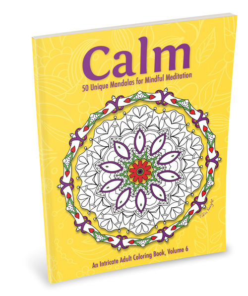 Calm Mandala Coloring Book for Adults
