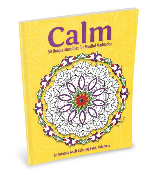 Calm Mandala Coloring Book for Adults