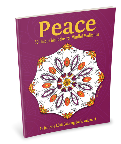 Peace Mandala Coloring Book for Adults