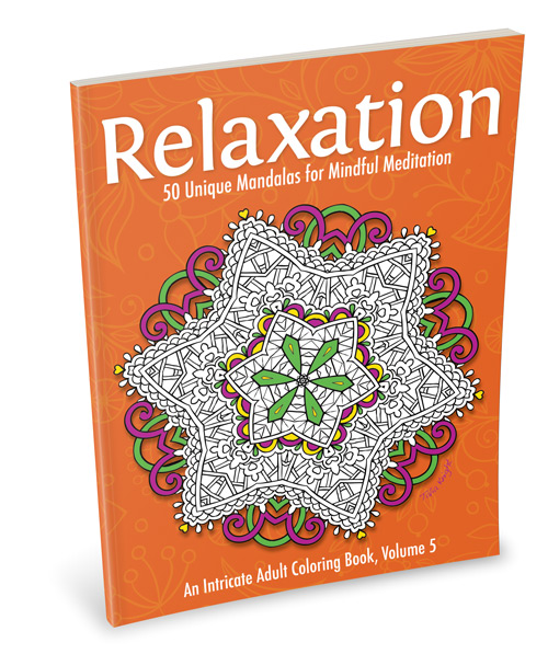 Relaxation Mandala Coloring Book for Adults