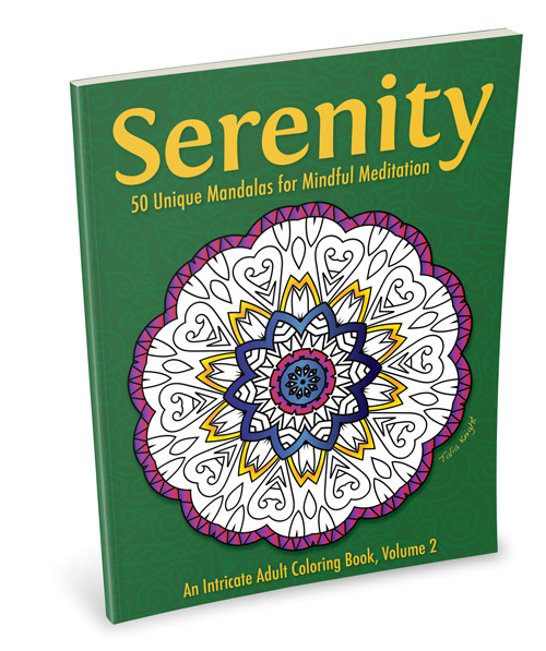 Serenity Mandala Coloring Book for Adults