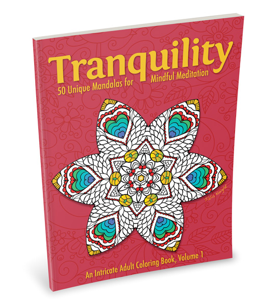 Tranquility Mandala Coloring Book for Adults